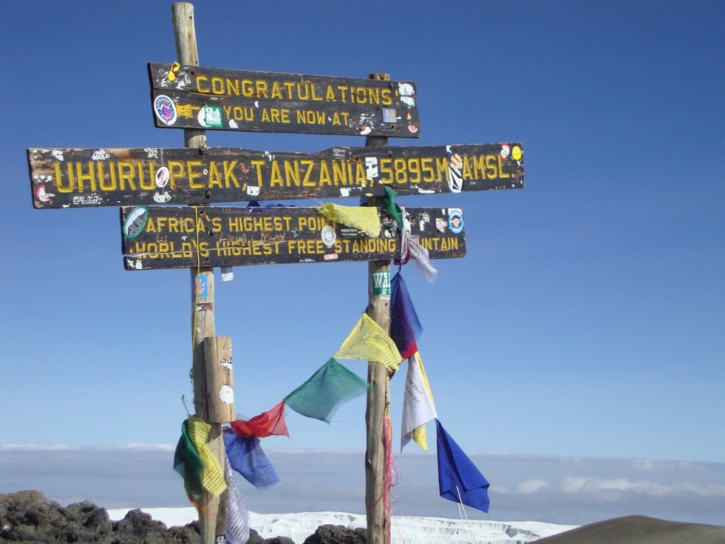 Travel bucket list #1 - Mt. Kilimanjaro