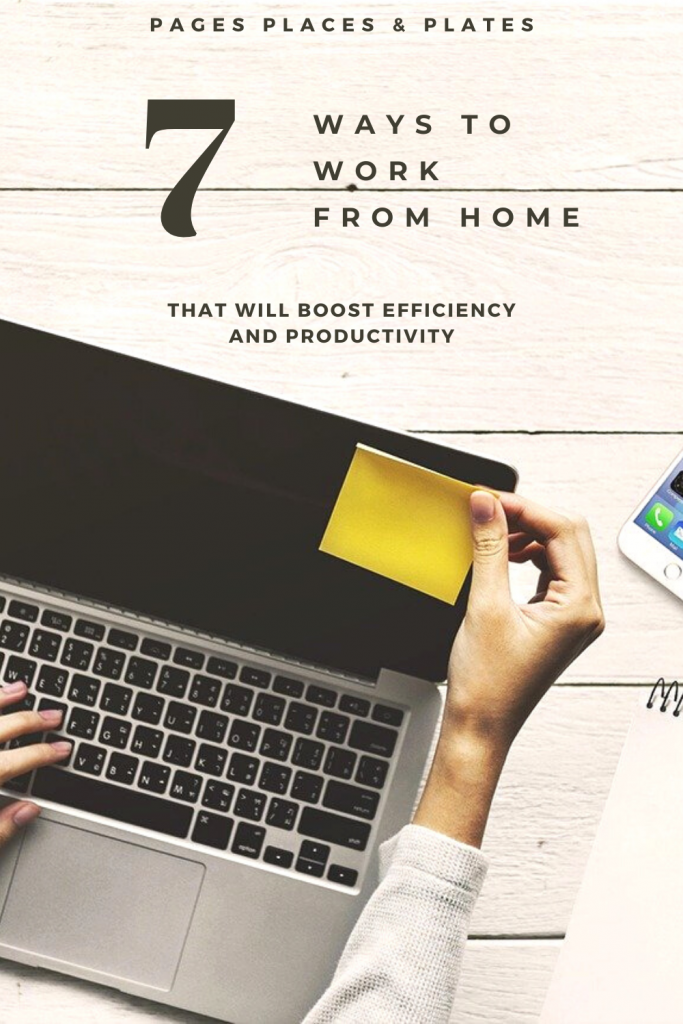 Pinterest image for How To Work From Home