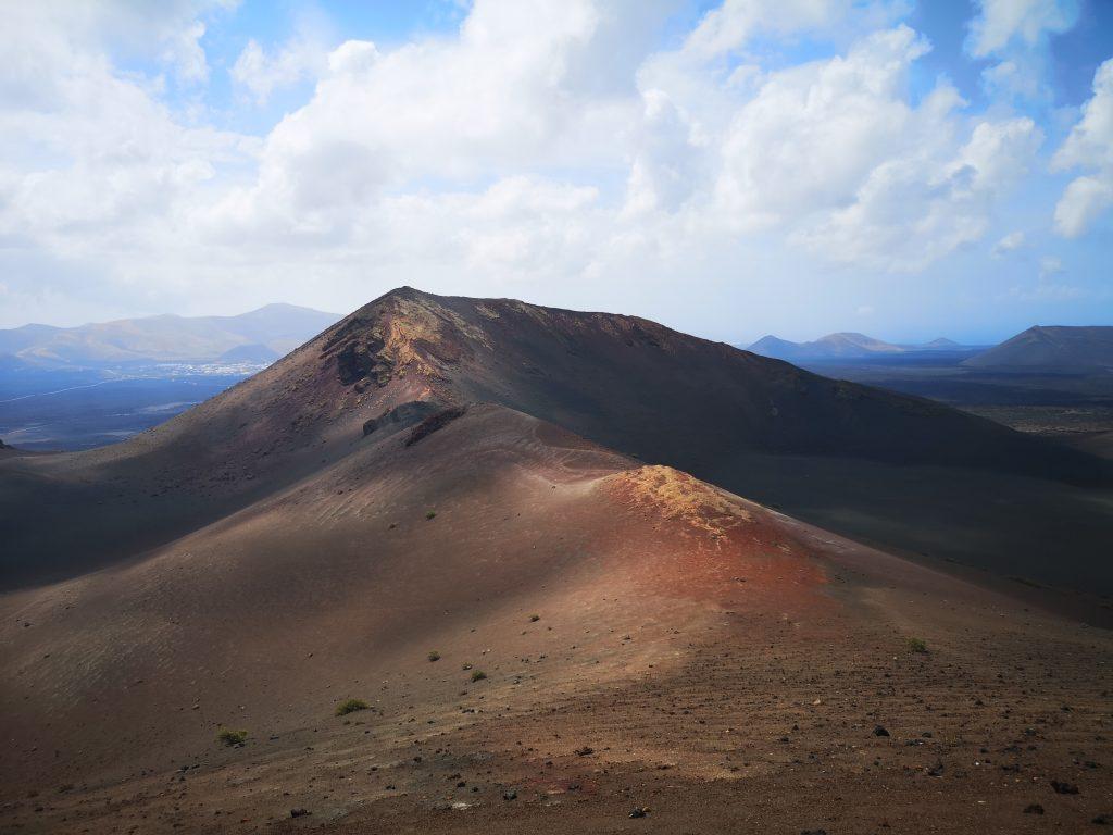A volcanic peak at Timanfaya National Park