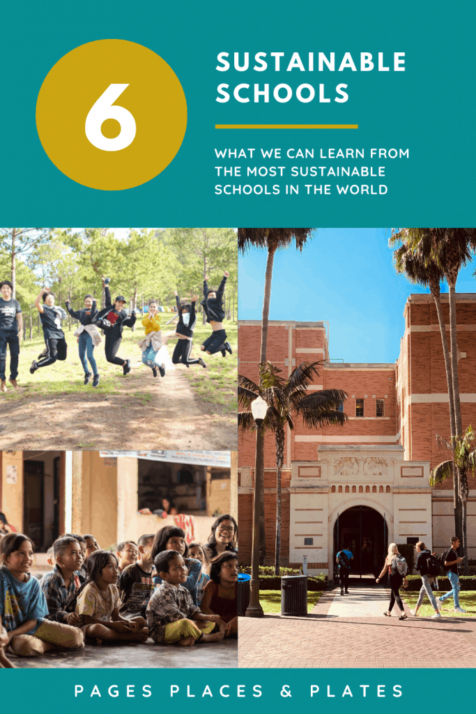 Pinterest image for Six Of The Most Sustainable Schools In The World
