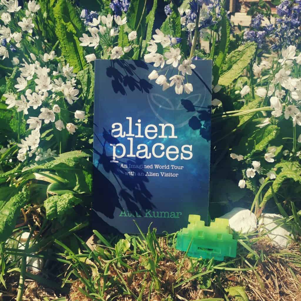 Title photo for climate change book Alien Places by Atul Kumar