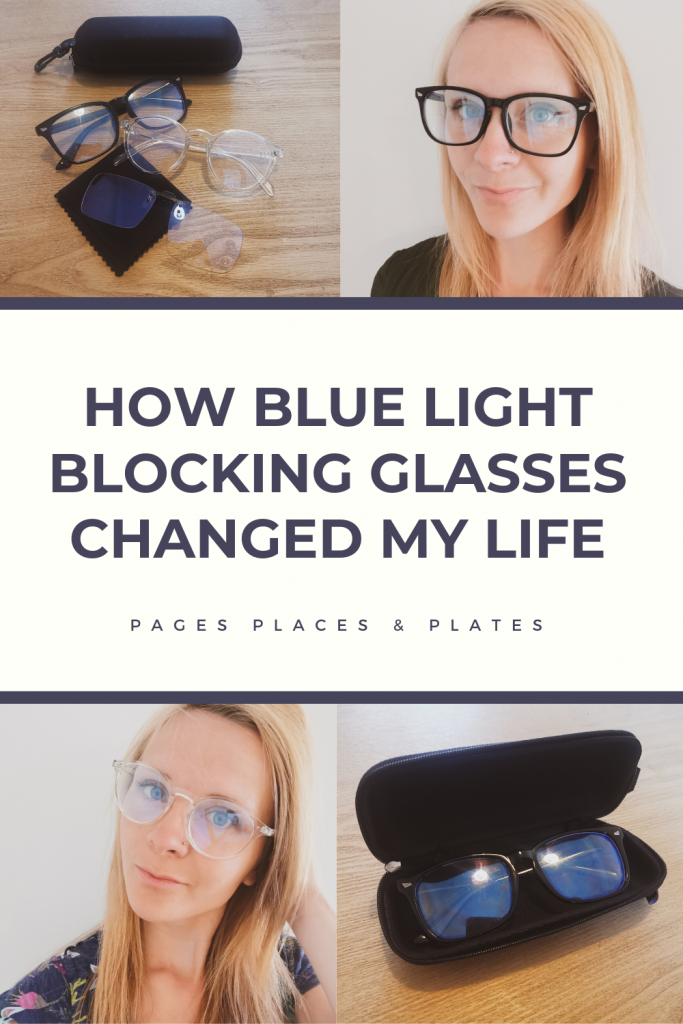 Pinterest image for best blue light blocking glasses