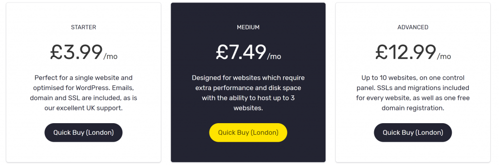 Cheap web hosting for WordPress options from Stablepoint