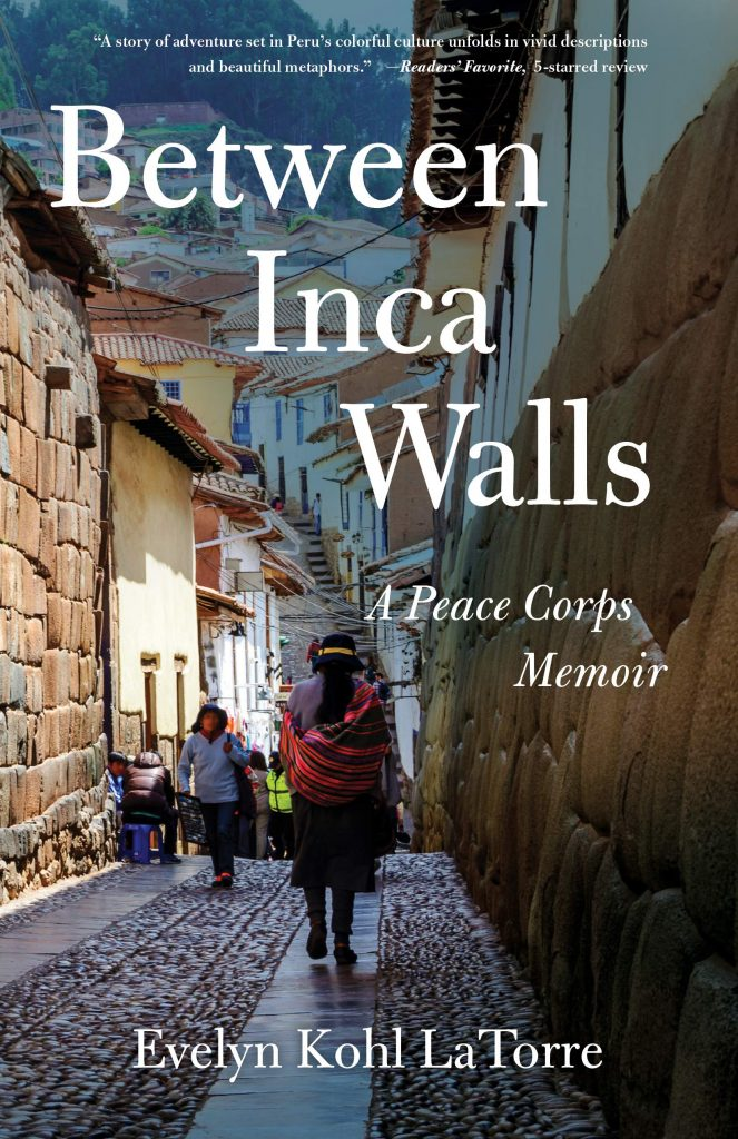 Cover image of Between Inca Walls by Evelyn Kohl LaTorre