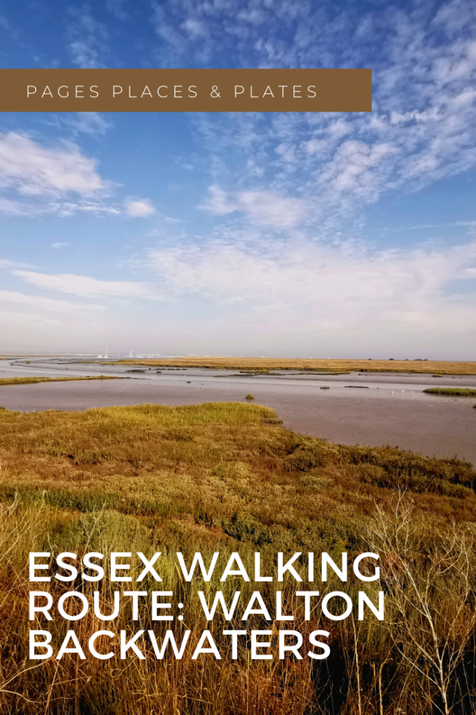 Pinterest image for Walton Backwaters: Essex Walking Routes