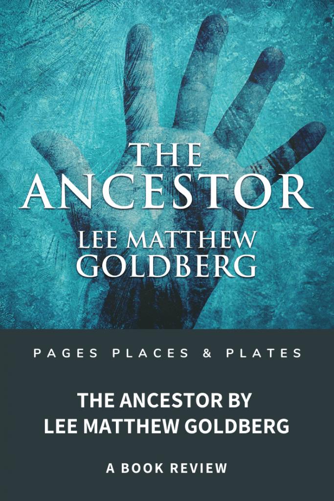 Pinterest image for The Ancestor time slip novel post