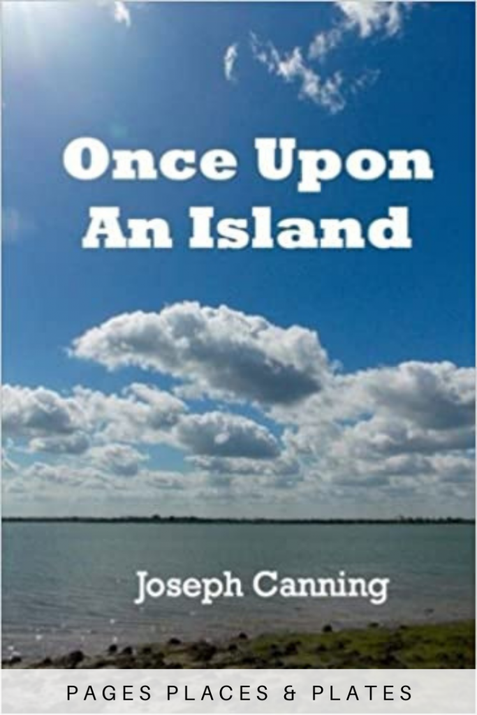 Pinterest image for Essex authors book Once Upon An Island