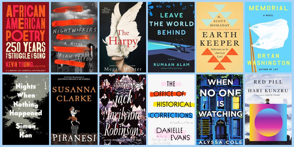 A selection of books voted the best for autumn 2020 by Esquire