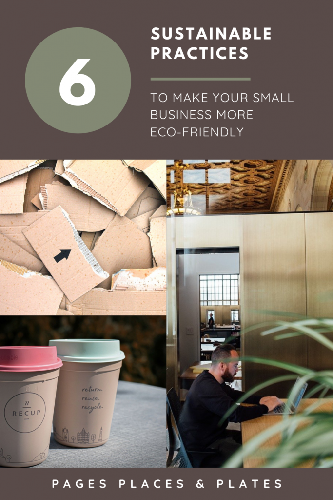 Pinterest image for 6 Sustainable Business Practices To Become More Eco-Friendly In 2021