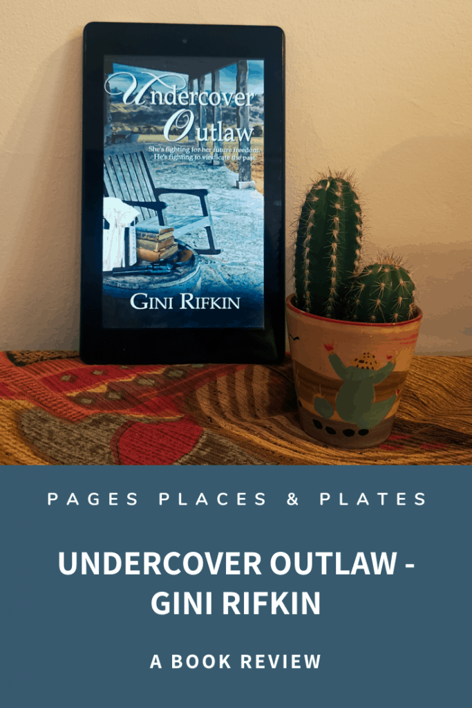 Pinterest image for one of Gini Rifkin's Western romance novels Undercover Outlaw