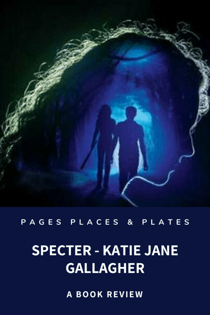 Pinterest image for young adult mystery novel Specter by Katie Jane Gallagher