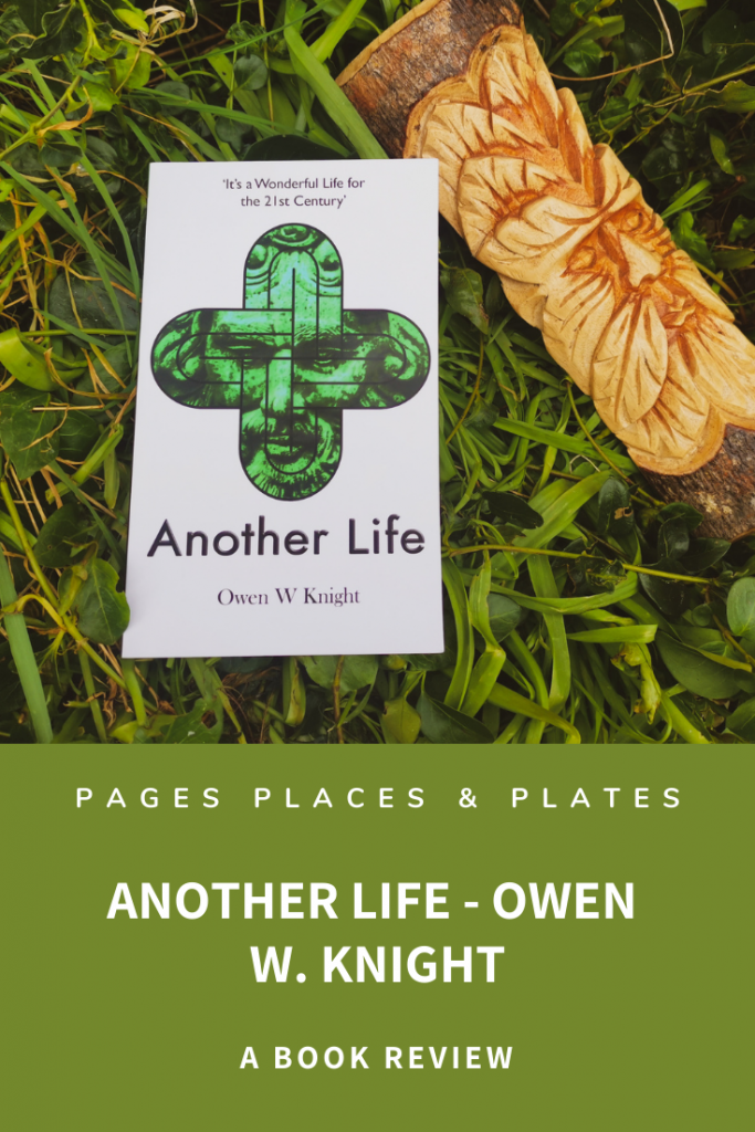 Pinterest image for speculative fiction novel Another Life by Owen W. Knight