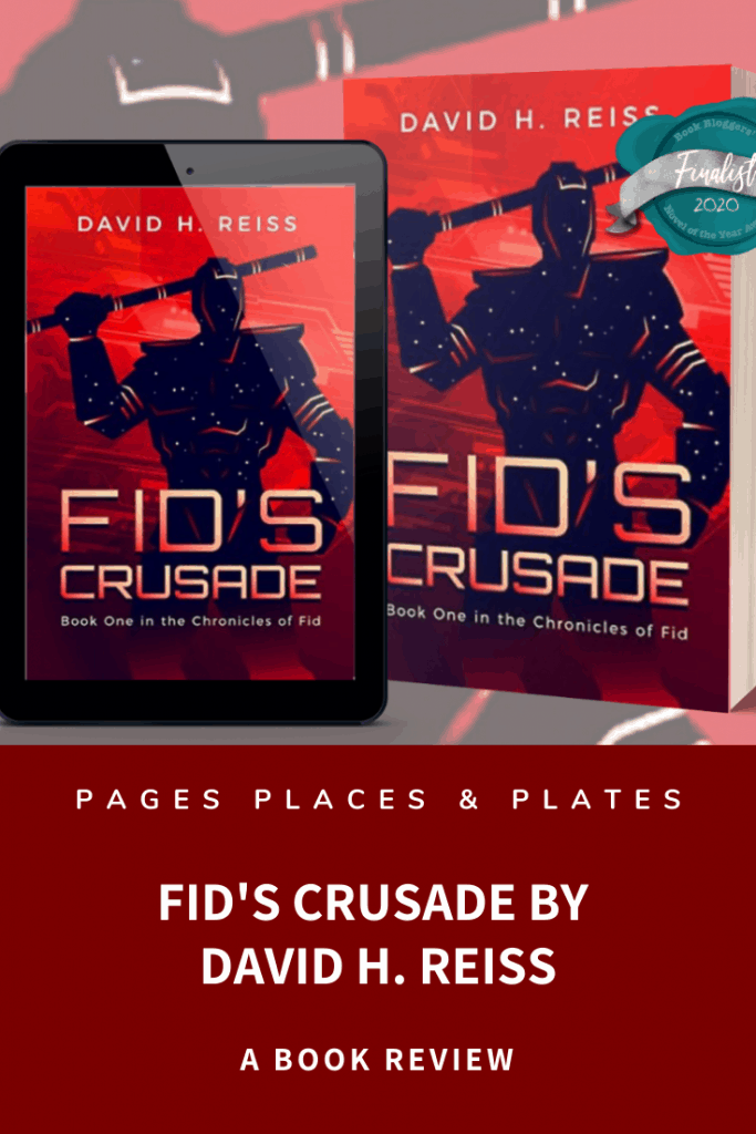 Pinterest image for Fid's Crusade by David H. Reiss